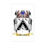 Merriman (England) Sticker (Rectangle)