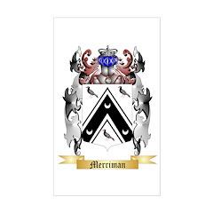 Merriman (England) Sticker (Rectangle)