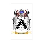 Merriman (England) Sticker (Rectangle 50 pk)