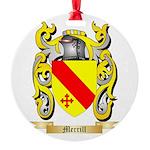Merrill Round Ornament