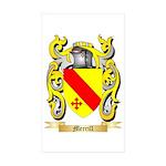 Merrill Sticker (Rectangle 50 pk)