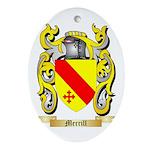 Merrill Oval Ornament
