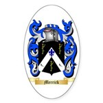 Merrick Sticker (Oval 50 pk)