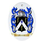 Merrick Oval Ornament