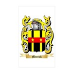 Merrick (Dublin) Sticker (Rectangle 50 pk)