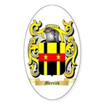 Merrick (Dublin) Sticker (Oval 10 pk)