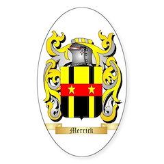 Merrick (Dublin) Sticker (Oval 50 pk)
