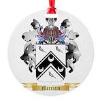 Merriam Round Ornament