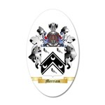 Merriam 35x21 Oval Wall Decal