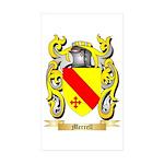 Merrell Sticker (Rectangle 10 pk)
