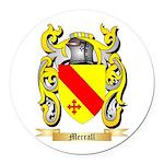Merrall Round Car Magnet