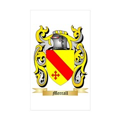 Merrall Sticker (Rectangle 50 pk)