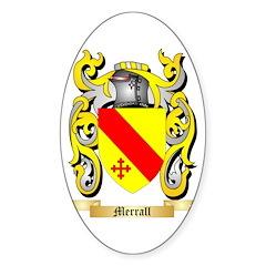 Merrall Sticker (Oval)