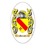 Merrall Sticker (Oval 50 pk)