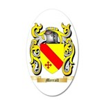 Merrall 35x21 Oval Wall Decal