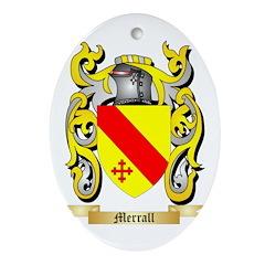 Merrall Oval Ornament