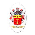 Merot 35x21 Oval Wall Decal