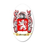 Mernagh 35x21 Oval Wall Decal