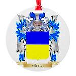 Merloz Round Ornament