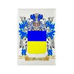 Merloz Rectangle Magnet (10 pack)