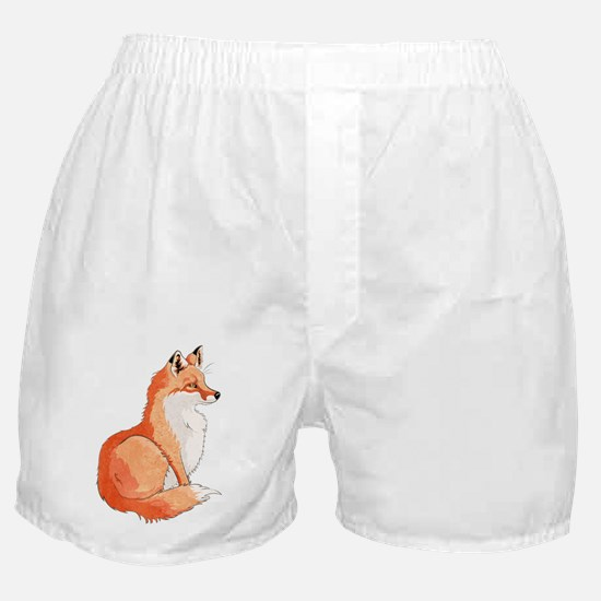 Sitting Fox Boxer Shorts