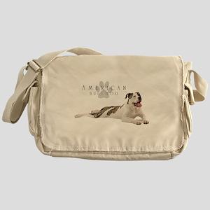 American Bulldog Messenger Bag