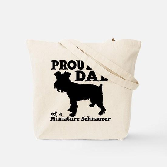 MINI SCHNAUZER (both sides) Tote Bag