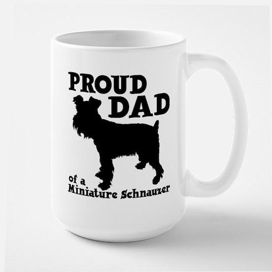 SCHNAUZER DAD Large Mug