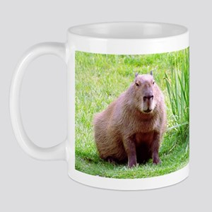 Capybara Looking Forward Mug