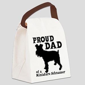 SCHNAUZER DAD Canvas Lunch Bag