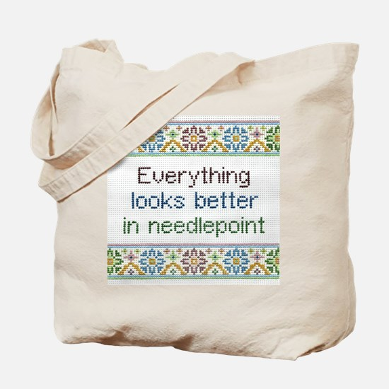 Everything Looks Better Tote Bag
