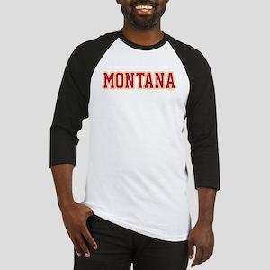 Montana Jersey Red Baseball Jersey