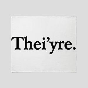 Thei'yre Throw Blanket