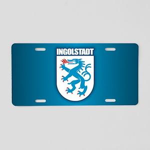 Ingolstadt Aluminum License Plate
