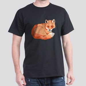 Resting Fox Dark T-Shirt