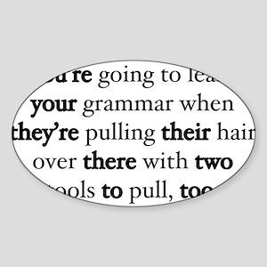 Correct Grammar Sticker