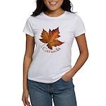 Canada Maple Leaf Souvenir Women's T-Shirt
