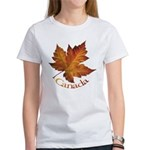 Canada Maple Leaf Souvenir Women's T-Shirt