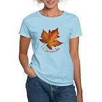 Canada Maple Leaf Souvenir Women's Light T-Shirt