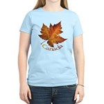 Canada Maple Leaf Souvenir Women's Light T-Shirt