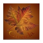 Canada Maple Leaf Souvenir Tile Coaster