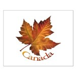Canada Maple Leaf Souvenir Small Poster