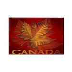 Canada Maple Leaf Souvenir Fridge Magnet 10 pack