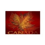 Canada Maple Leaf Souvenir Fridge Magnet 10 pack