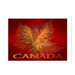 Canada Maple Leaf Souvenir Postcards (Package of 8