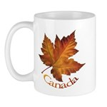 Canada Maple Leaf Souvenir Mug