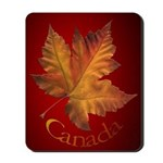 Canada Maple Leaf Souvenir Mousepad