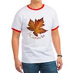 Canada Maple Leaf Souvenir Ringer T