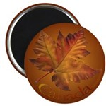 Canada Maple Leaf Souvenir Fridge Magnet (10 pack)