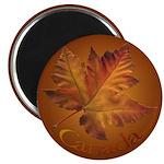 Canada Maple Leaf Souvenir Fridge Magnet